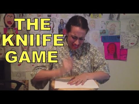 THE KNIFE GAME CHALLENGE!