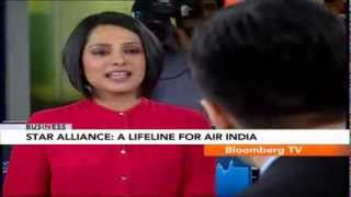 In Business- Star Alliance: A Lifeline For Air India - BLOOMBERGUTV