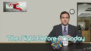 Royalty Free The Night Before Monday:The Night Before Monday