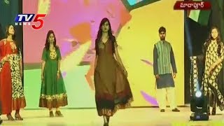 Handloom Day Celebrated Grandly In Madhapur NIFT | TV5 News - TV5NEWSCHANNEL