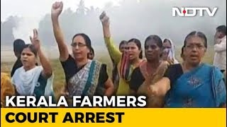 CPM Activists Allegedly Set Protesting Farmers' Tents On Fire In Kerala - NDTV