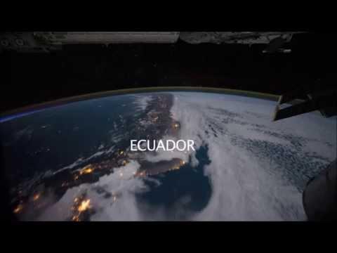 Países e cidades vistos do espaço - 2013