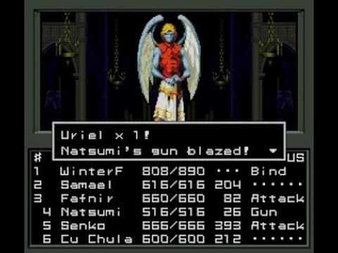 Shin Megami Tensei - Uriel Battle