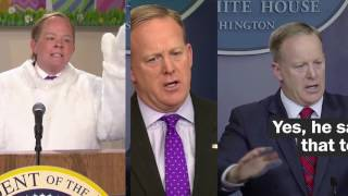 How Melissa McCarthy interprets Sean Spicer on SNL - WASHINGTONPOST