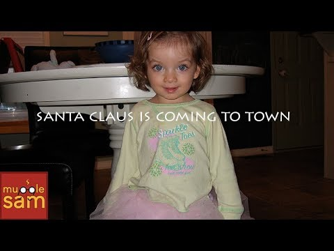 2 YEAR OLDS SINGING SANTA CLAUS IS COMING