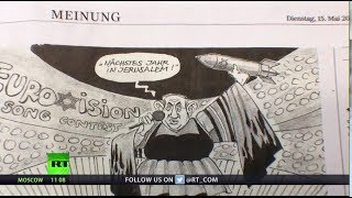 Anti-Semitic? Cartoonist depicts Netanyahu as Netta, fired by German newspaper - RUSSIATODAY