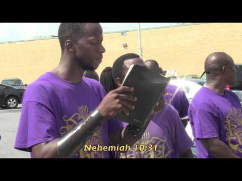 The Israelites 40-Man Camp Washington DC: Immaculate Conception Is A Catholic LIE!!!!