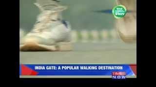 India Gate: A popular walking destination - TIMESNOWONLINE