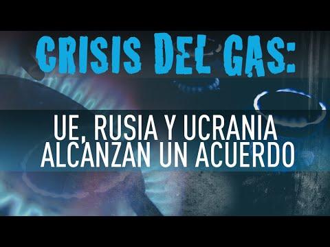 Rusia, Ucrania y la UE firman los acuerdos para el suministro de gas ruso a Kiev