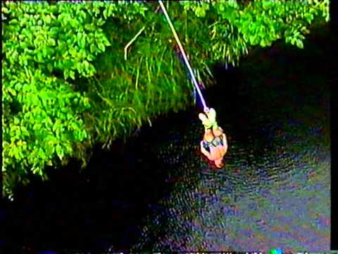 My very first Bungee Jump near Cairns, Australia '98