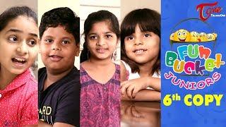 Fun Bucket JUNIORS   Kids Jokes   Episode 6   Kids Funny Videos   Comedy Web Series - TELUGUONE