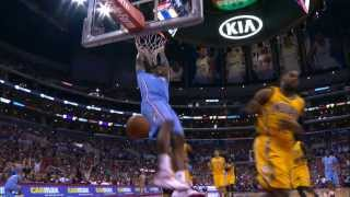 DeAndre Jordan Throws Down Half Court Alley Oop