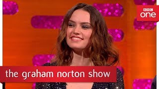 Daisy Ridley remembers getting the part of Rey - The Graham Norton Show: 2017 - BBC One - BBC
