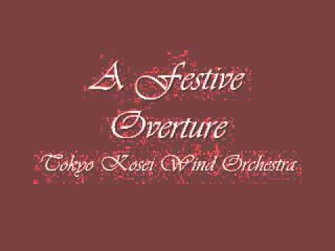 A Festive Overture Tokyo Kosei Wind Orchestra