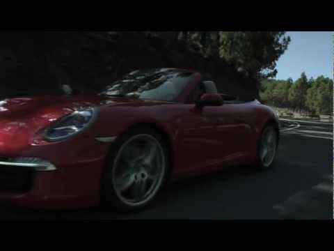 2012 Porsche 911 (991) Carrera S Cabriolet - Driving Footage [HD]