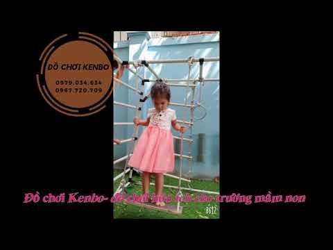 Xà đu Kenbo- sản phẩm hữu ích cho nhà trẻ
