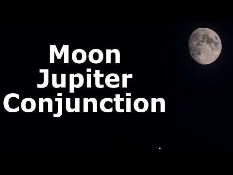 LIVE The Moon and Jupiter Conjunction - Backyard Astronomy 7th May 2017