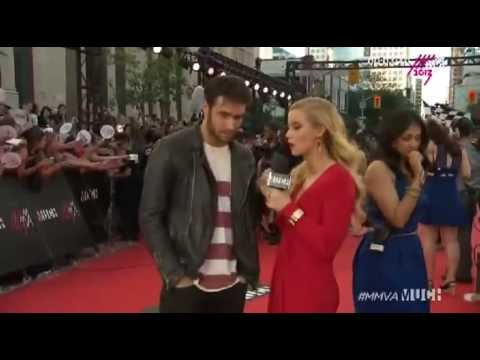 Josh Bowman from Revenge at the Much Music Video Awards — MMVA 2013