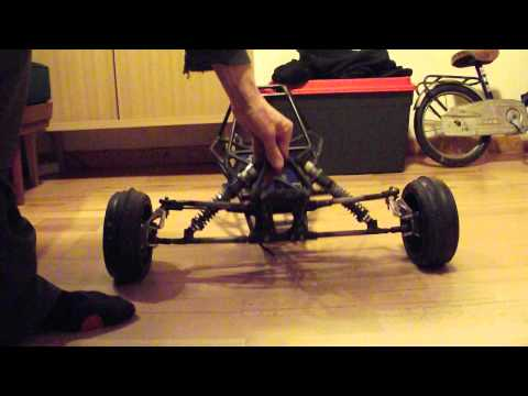 HPI BAJA SANDRAIL LONG TRAVEL TESTING