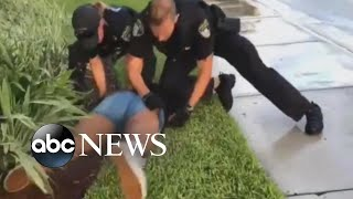 Video shows a Florida police officer hitting a 14-year-old during arrest - ABCNEWS