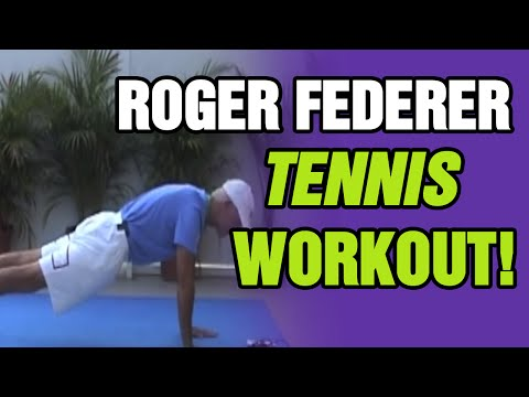 Tennis Lessons - The Roger Federer Workout | Tom Avery Tennis 239.592.5920