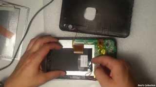 Ремонт китайского планшета GoClever Tab 7500 - замена экрана и полная разборка