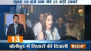 India TV News: 5 minute 25 khabrein October 24, 2014 | 10 AM - INDIATV