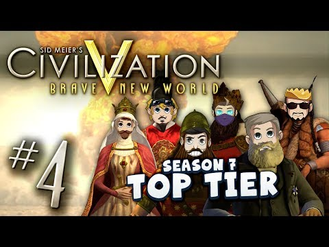 Civ 5 Top Tier #4 - Flip Off!