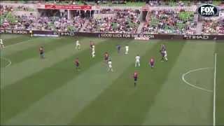 ديفيد فيا يسجل هدف في الدقائق الأخيرة وينقذ فريقه