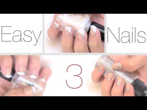 Ideas fáciles y elegantes para pintar las uñas