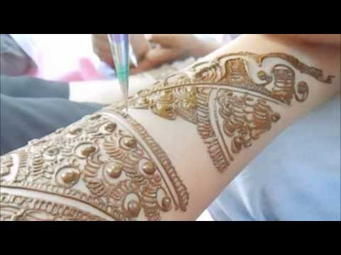 Beautiful Indian Pakistani bridal Mehendi-Unique Full Hand Bridal Henna Mehndi Part 1