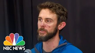 Watch live: Colorado runner who killed mountain lion speaks - NBCNEWS