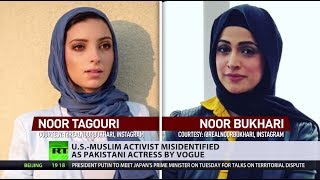 US-Muslim activist misidentified as Pakistani actress by Vogue - RUSSIATODAY