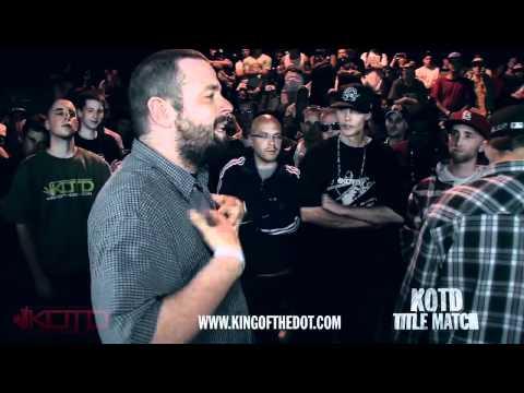 KOTD - Rap Battle - Bender vs Sketch Menace (Title Match)