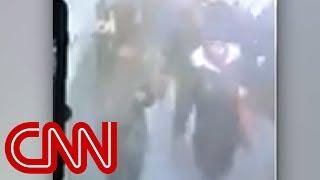 Camera shows moment of New York subway blast - CNN