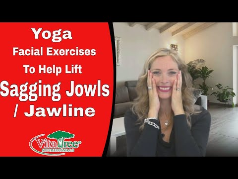 Yoga Facial Exercises To Help Lift Sagging Jowls / Jawline - VitaLife Show Episode 93