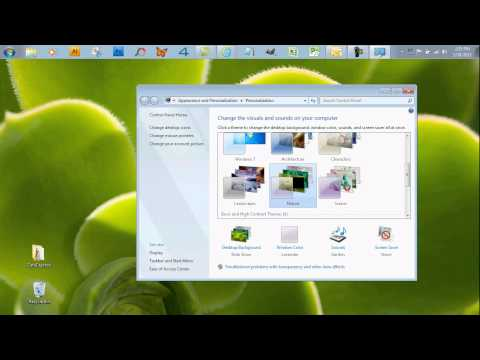 Abang Tutorial - Cara Mudah Menukar Wallpaper Windows 7