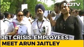 Jet Airways Delegation Meets Arun Jaitley, Seeks Pending Salaries - NDTV