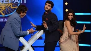 Big B dances with Deepika, Arjun to 'Bootiya' - IANSINDIA