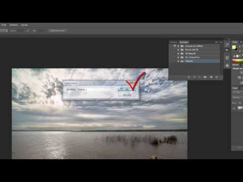 Videotutorial  - Como crear una acción en Photoshop CS6 -