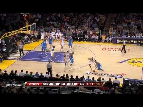 Allen Iverson Highlight vs Kobe Bryant the Lakers 2008 Playoffs Game 1