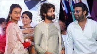 Prabhas & Vijay Devarakonda, Namratha At Producer Lakshman Son Engagement   Tollywood Updates - RAJSHRITELUGU