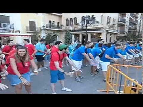 El Baile del Serrucho en Villarrobledo. II Encuentro de Charangas