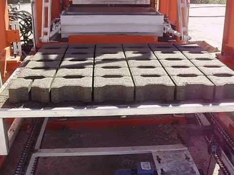 CONCRETE INTERLOCK AND BLOCK MACHINE BETON PARKE BORDUR VE BRIKET MAKINASI HUBA MAKINA 03123951344