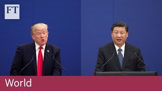 US-China in a 'rapidly escalating trade war' - FINANCIALTIMESVIDEOS