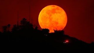 Blood Moon burns bright all around the globe ahead of total eclipse - RUSSIATODAY