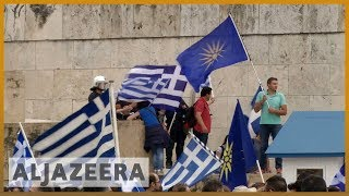 🇬🇷 Greek PM Tsipras survives no confidence vote over Macedonia deal | Al Jazeera English - ALJAZEERAENGLISH