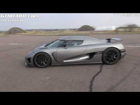 Koenigsegg Agera acceleration from outside