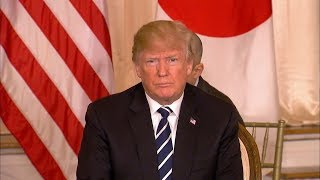 President Donald Trump holds joint news conference with Japanese PM Abe| ABC News - ABCNEWS