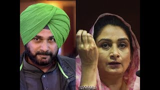 Pak visit: War of words between Navjot Singh Sidhu and Harsimrat Kaur Badal - TIMESOFINDIACHANNEL